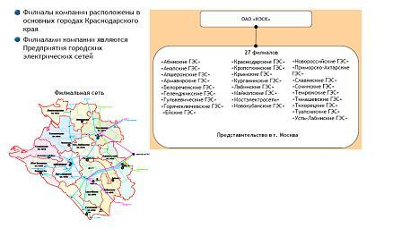 Рис. 2.2. Организационная структура ОАО «НЭСК»
